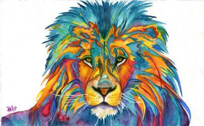 Kaleidoscope The Lion