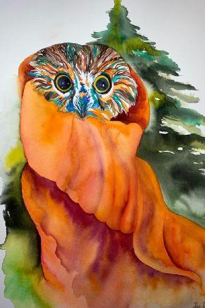 Rockefeller the Owl 2020