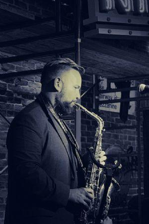 Working Musician I (Saxophone Noir)